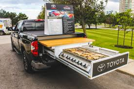 Toyota Canada Creates Tailgating Tundra Truck - The News Wheel Tailgating Truck Best Image Kusaboshicom Ultimate Vehicle Imagimotive Top 10 Vehicles Charleston Beer Works Tailgate Grills For Trucks In 82019 Bbq Grill Truck 1czc 733 Youtube Lsu Fire Blakey Auto Plex Dealership Blog Guide To Hottest 2016 Wheelfire Rivals Season 7 Osu Ride 1941 Flatbed Pickup Idea Ever Tailgating Convert Your Tractor Supply Custom Tailgaters The Vanessa Slideout Kitchen Is Next Level Insidehook Tv Archives Big Game Trailers