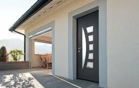 votre porte d entrée aluminium ou pvc tu construis ta maison