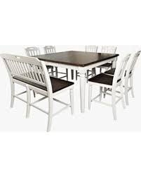 Orchard Park Collection 1771608SET 8 PC Bar Table Set With Counter Height Bench