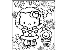 5 O Kitty Christmas Coloring Pages Merry
