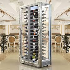 weinkühlschrank teca vino silber wine wine cellar