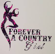 Muddy Girl Pink Camo Forever A Country Truck Vinyl Decal 5