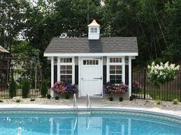 Amish Mikes Sheds by Custom Pool Houses Amish Mike Amish Sheds Amish Barns Sheds