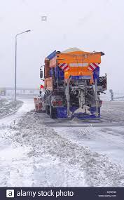 100 Salt Spreader For Truck Spreader Truck Stock Photo 277067756 Alamy