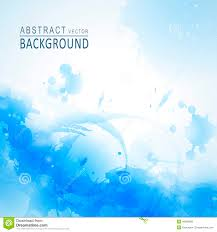 Watercolor Style Background Design For Poster Template