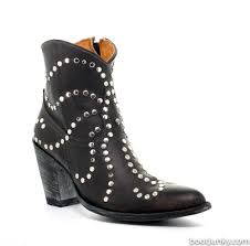 Bed Stu Gogo Boots by L1321 5 Old Gringo Ursula Antique Black Studded Rockstar Ankle