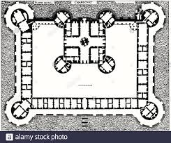 Chateau Floor Plans Floor Plan Of The Chateau De Chambord Jacques I Androuet