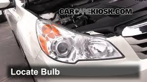 third brake light bulb change subaru outback 2010 2014 2011