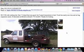 100 Used Trucks For Sale In Houston By Owner The 12 Steps Needed Putting Craigslist WEBTRUCK
