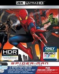 Spider Man Legacy Collection 4K Ultra HD Blu Ray