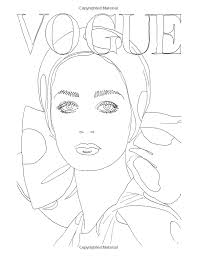 Vogue Goes Pop Colouring Book Amazonde Iain R Webb Fremdsprachige