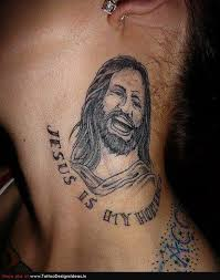 T1 Jesus Cross Tattoo Picture