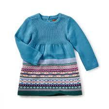 suzette sweater dress tea collection