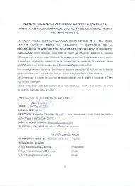 Carta Poder A Movistar