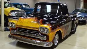 Big Tire Hotrod | 1958 Chevrolet Apache Hot Rod Pickup Big Block ... Big Tire Hotrod 1958 Chevrolet Apache Hot Rod Pickup Big Block 160520 001 001jpg 1955 Chevy Truck Handsome 3200 At Home 7_chevlestepside_pickupsrbehot_rod5___1956 Parts Blower Fat Hot Rod Fast Chevy Fleetside Wheels Boutique 1964 Promoted By The Fab Forums Fabrication Truck Network 1956 1957 1959 Radio Original Cameo 55 57 Dans Garage