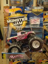 100 Madusa Monster Truck Toy J And J S Hot Wheels 2017 Jam Case C