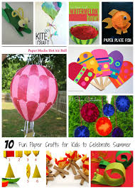 10 Fun Paper Crafts For Kids To Celebrate Summer