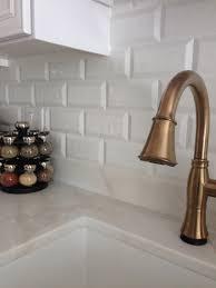 Delta Trinsic Kitchen Faucet Champagne Bronze by Champagne Bronze Kitchen Faucet Inspirations And Delta Cassidy