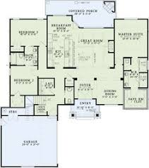 Craftsman Style Floor Plans by Craftsman House Plan 94182 Total Living Area 1720 Sq Ft 3