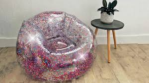 Inflatable Glitter Chairs Are The Perfect '90s Throwback! Flocking Inflatable Sofa With Foot Rest Cushion Garden Baby Built In Pump Bath Seat Chair Yomi The Lively Inflatable Armchair Plastics Le Mag Qrta Sale New Sex Satisfying Mulfunction Chairs For Adults Choozone Romatlink Outdoor Lounger Air Blow Up Camping Couch Adults Kids Water Proof Antiair Leaking Design Bed Backyard 10 Best Couches Review Guide 2019 Seats Ding Pushchair Pink Green Pvc Infant Portable Play Game Mat Sofas Learn Stool Get A Jump On The Trend For An Awesome Summer 15 Cool Fniture Ideas You Will Definitely Fall Modern And Popular Pieces Wearefound