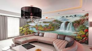 3D Mural Interior Decoration Wall Paint