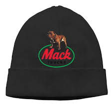 100 Mack Truck Hat S Cable Knit Skull Caps Thick Soft Warm Winter Beanie