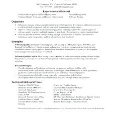Software Testing Resume Samples 2 Years Experience Feat Tester Examples Free