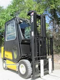 100 Yale Lift Trucks Gdp040 Forklift Truck Hilo Fork 4 000lb Cat Full Cab