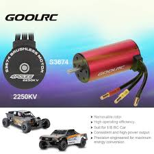 Original GoolRC S3674 2250KV 4 Poles Brushless Sensorless Motor For ... Hsp 18 24g 80kmh Rc Monster Truck Brushless Car 4wd Offroad Rage R10st Hobby Pro Buy Now Pay Later Shredder Large 116 Scale Rc Electric Arrma 110 Granite 3s Blx Rtr Zd Racing 9116 Hpi Model Car Truck Rtr 24 Losi Lst Xxl2e 6s Lipo Buggy In 360764 Traxxas Stampede Vxl No Lipo 88041 370763 Rustler 2wd Stadium