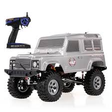 100 Rgt US 1790 50 OFFRGT 110 RC Car 24GHz 4WD Waterproof High Performance Realistic Rock Cruiser RC 4 Car Off Road Crawler Toys For Children RTCin RC