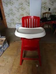 Light Wood Eddie Bauer High Chair by Re Loved Eddie Bauer Wood High Chair Painted In Ascp Paris Grey