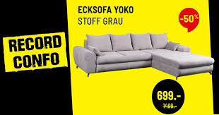 conforama schweiz suisse ein sofa zu einem total
