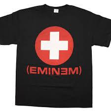 Eminem Curtains Up Encore Version by T Shirt Eminem Recovery Black T Shirt