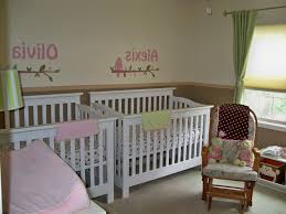 Image Of Twin Nursery Ideas For Small Spaces