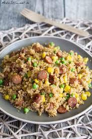 couscous pfanne mit cabanossi erbsen und mais rezept