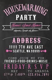 Housewarming Party Invites Amandarobinett