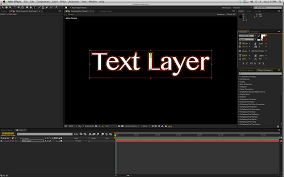 Text Layers In 3D Losing Stroke Attribute Adobe After Effects