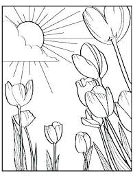 Spring Coloring Pages Printable 244 Related Post Magnificent Colouring Season