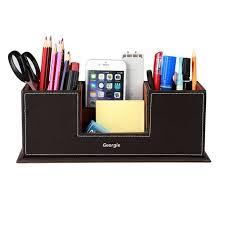 rangement stylo bureau boîte de rangement de bureau desk organizer card pot crayons bureau