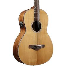 Ibanez AVN9SPENT Thermo Aged Parlor Acoustic Electric Guitar