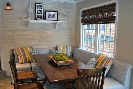 Kitchen Banquette Plans Seating Fabulous Common Layout Ideas Corner