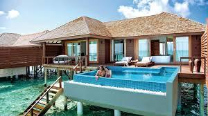 100 Five Star Resorts In Maldives Deluxe Water Villa Luxury Pool Villas