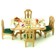 Sylvanian Families Luxury Living Room Set Dining Guest Bedroom Home Design