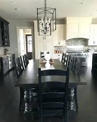 Black Dining Rooms Room Sets Best Ideas About Mesmerizing Kitchen Table