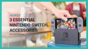 3 Essential Nintendo Switch Accessories