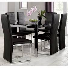 Dining Chair Black Wood Upholstered Dining Chairs Farmhouse Dining
