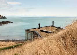 100 Patterson Architects Honeymoon Retreat By Andrew Sits On New Zealand Shoreline