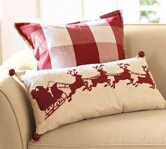 Red Decorative Lumbar Pillows by Christmas Lumbar Pillows Custom College Papers