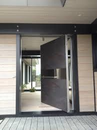 beau porte blindée avec porte d entrée contemporaine design 83