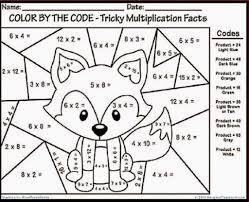 Halloween Multiplication Worksheets Coloring by Christmas Fraction Coloring Worksheets Great Math Multiplication